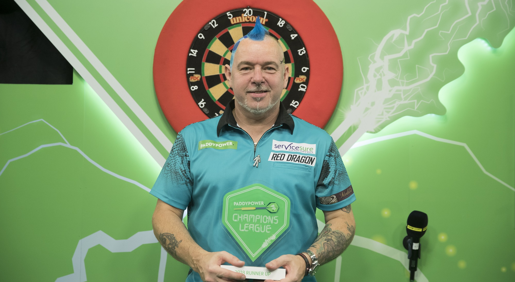 Champions League Spot Secure For Wright Pdc