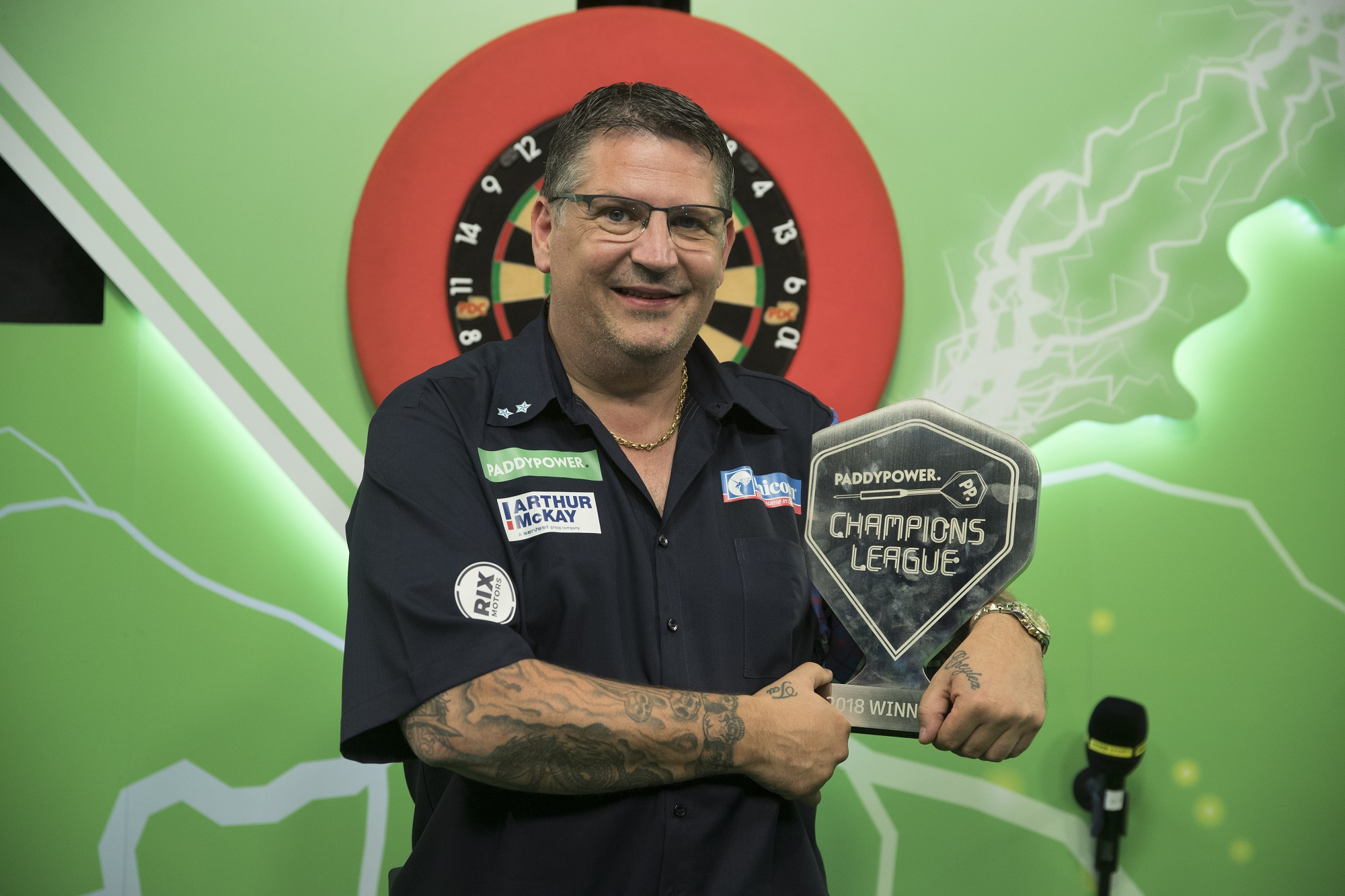 Paddy Power Champions League Schedule Confirmed Pdc