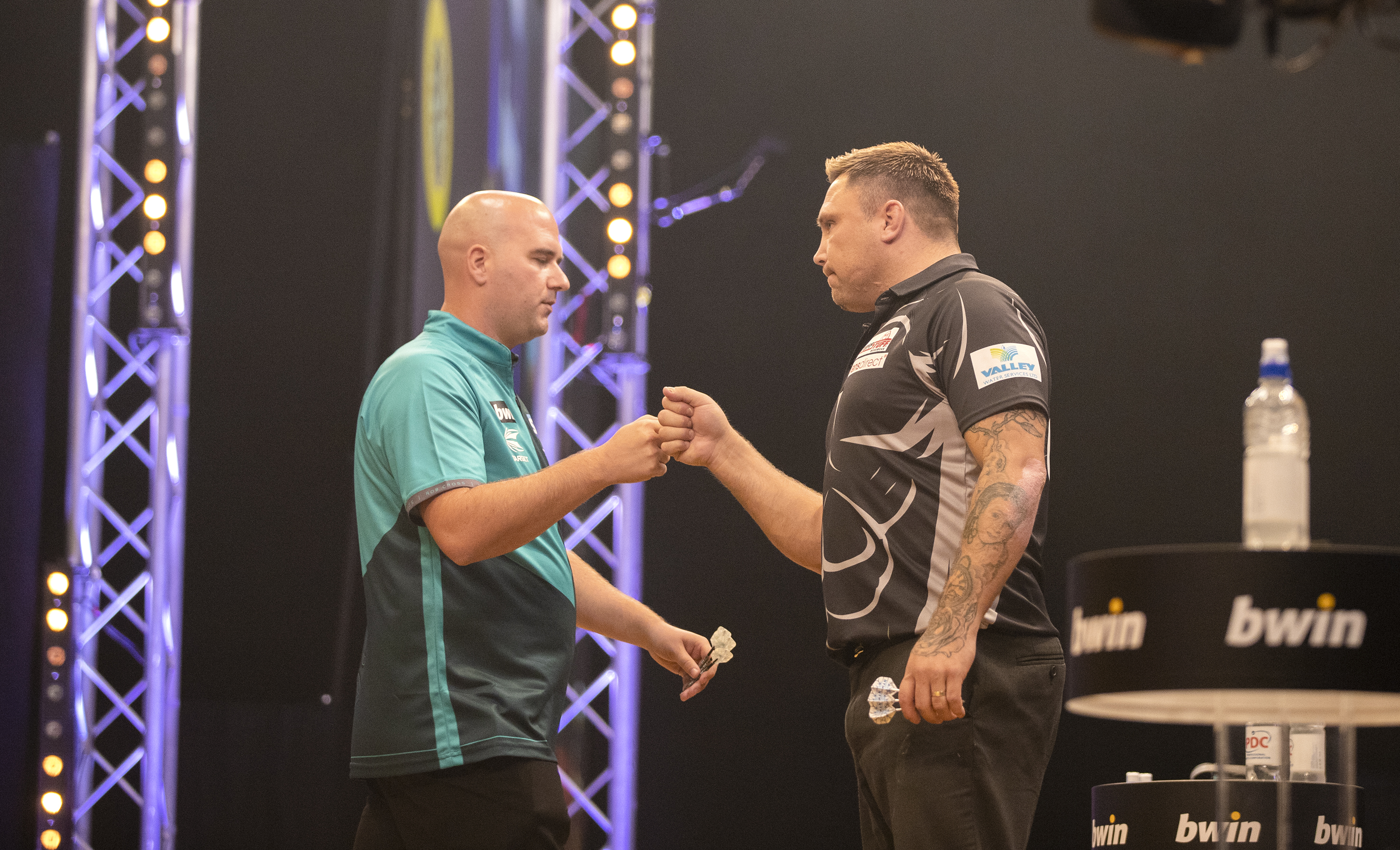 Rob Cross, Gerwyn Price