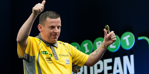 Dave Chisnall - Unibet European Championship (Kelly Deckers)