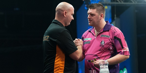 Rob Cross & Daryl Gurney - Unibet European Championship (Kelly Deckers)