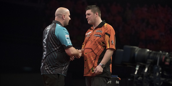 Rob Cross & Daryl Gurney - Premier League (Lawrence Lustig, PDC)