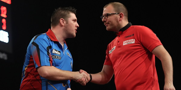 Daryl Gurney & Mark Webster (Lawrence Lustig, PDC)
