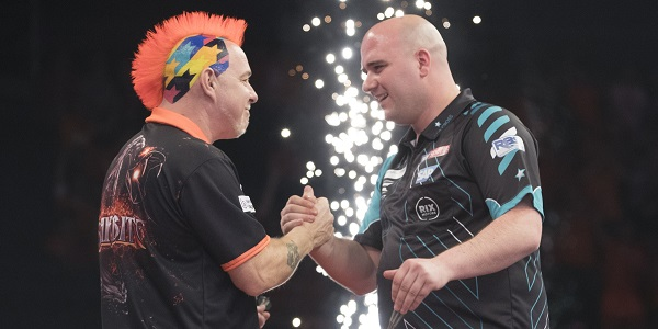 Peter Wright & Rob Cross (Lawrence Lustig, PDC)