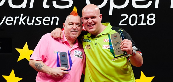 Peter Wright & Michael van Gerwen (Kelly Deckers, PDC)