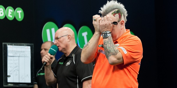 Peter Wright - Unibet European Championship (Kelly Deckers)