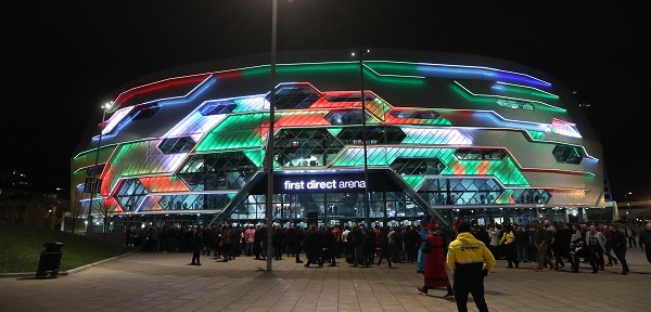 First Direct Arena (Lawrence Lustig, PDC)