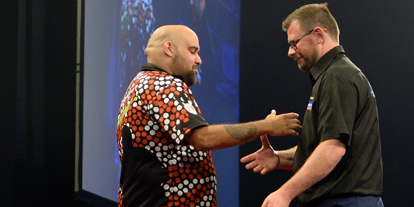 Kyle Anderson & James Wade - Auckland Darts Masters, presented by TAB & Burger King (Photosport, PDC)