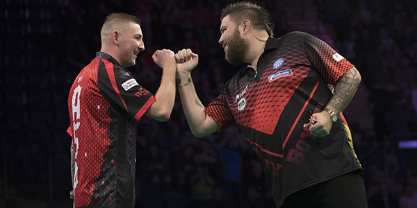 Nathan Aspinall, Michael Smith (Lawrence Lustig, PDC)
