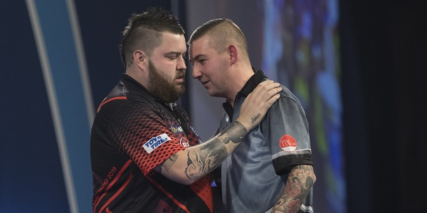 Michael Smith & Nathan Aspinall (Lawrence Lustig, PDC)