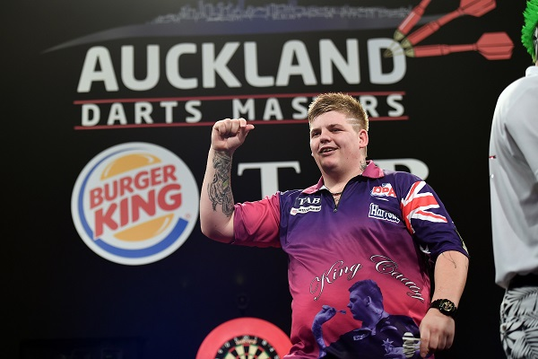 Corey Cadby - Auckland Darts Masters First Round (Photosport, PDC)