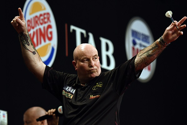 Mark Cleaver - Auckland Darts Masters First Round (Photosport, PDC)