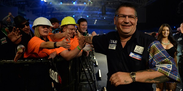Gary Anderson - Auckland Darts Masters First Round (Photosport, PDC)