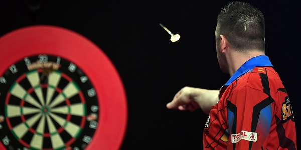 Daryl Gurney - Auckland Darts Masters First Round (Photosport, PDC)
