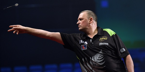 Rob Szabo - Auckland Darts Masters First Round (Photosport, PDC)