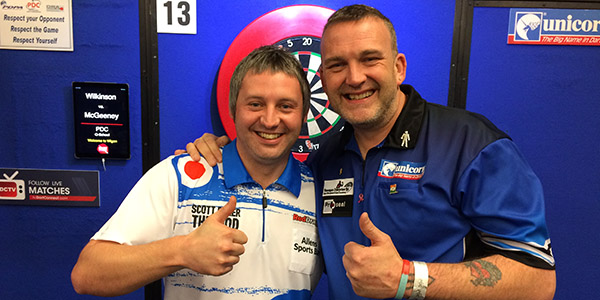 Scott Baker, Mark McGeeney (PDC)