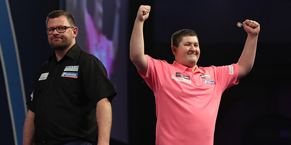 Keegan Brown, James Wade (Lawrence Lustig, PDC)