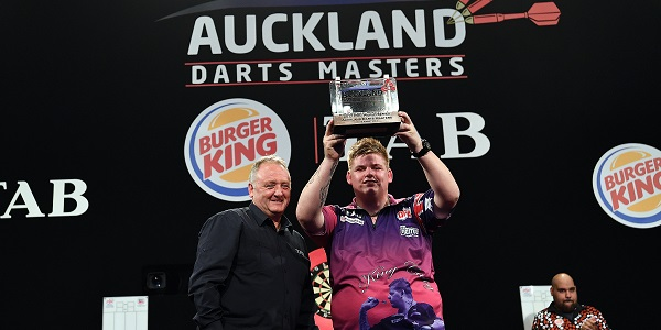 Corey Cadby - Auckland Darts Masters, presented by TAB & Burger King (Photosport, PDC)