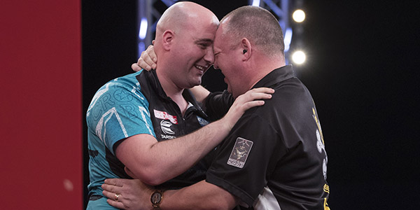 Rob Cross, Mervyn King (Lawrence Lustig, PDC)