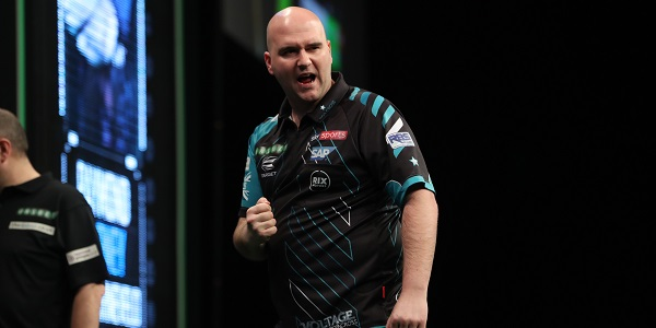 Rob Cross - Unibet Premier League, Berlin (Lawrence Lustig, PDC)