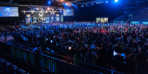 European Championship General View (PDC)