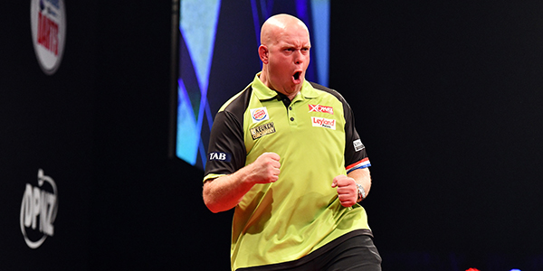 Michael van Gerwen (Photosport NZ/PDC)