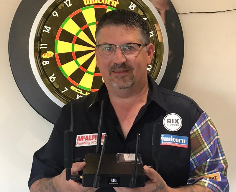 Gary Anderson with Ampito router