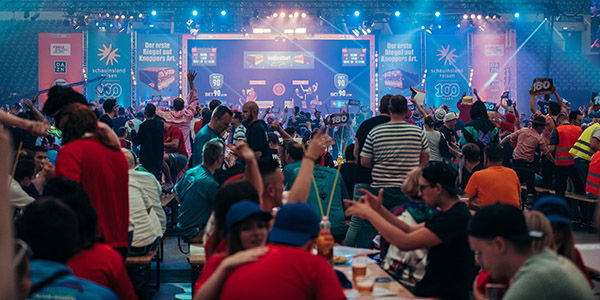German Darts Masters crowd (PDC)