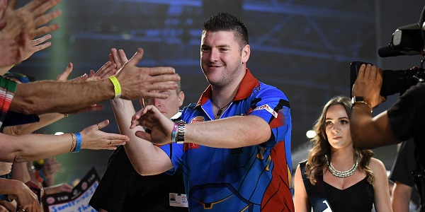 Daryl Gurney - Auckland Darts Masters, presented by TAB & Burger King (Photosport, PDC)