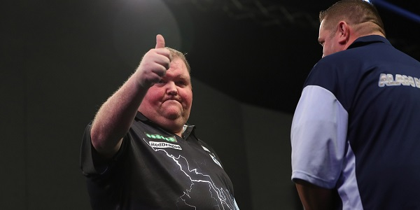 John Henderson - Unibet World Grand Prix (Lawrence Lustig, PDC)