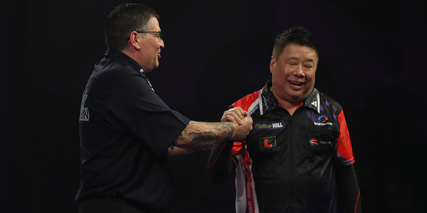Gary Anderson, Paul Lim (Lawrence Lustig, PDC)