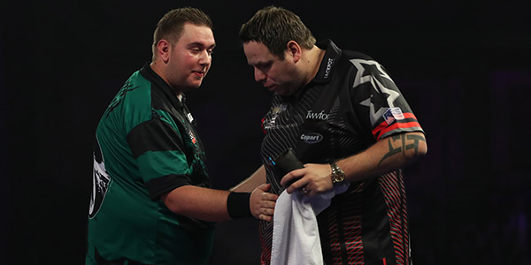 Kevin Munch, Adrian Lewis (Lawrence Lustig, PDC)
