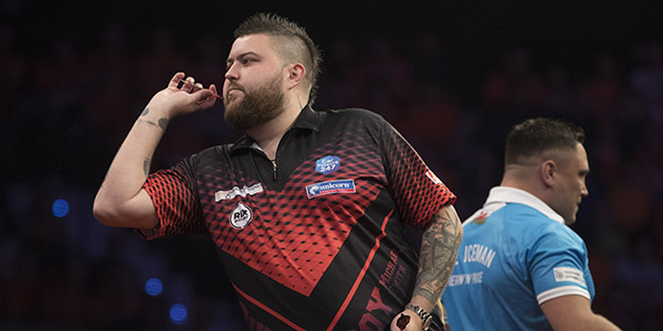 Michael Smith, Gerwyn Price (Lawrence Lustig, PDC)