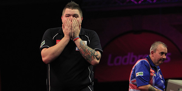 Michael Smith, Phil Taylor (Lawrence Lustig, PDC)