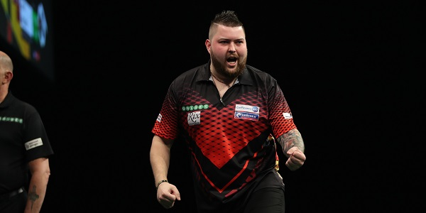 Michael Smith - Unibet Premier League, Berlin (Lawrence Lustig, PDC)