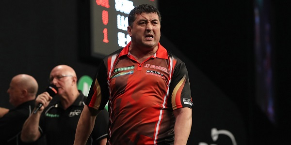 Mensur Suljovic - Unibet World Grand Prix (Lawrence Lustig, PDC)