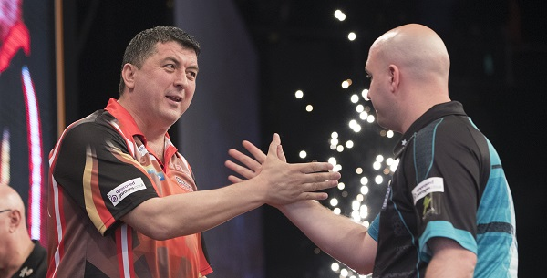 Mensur Suljovic & Rob Cross (Lawrence Lustig, PDC)
