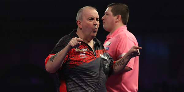 Phil Taylor, Keegan Brown (Lawrence Lustig, PDC)