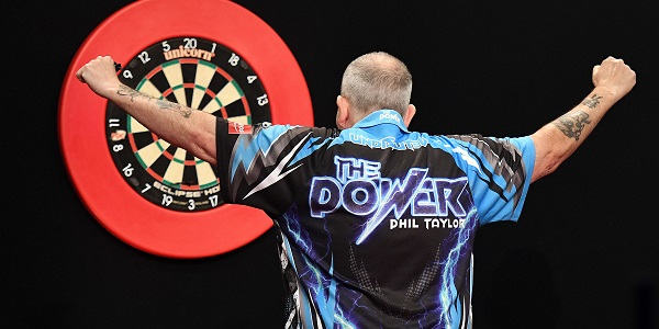 Phil Taylor - Auckland Darts Masters, presented by TAB & Burger King (Photosport, PDC)