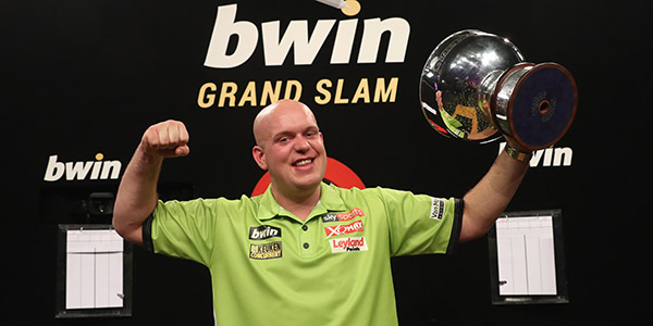 Michael van Gerwen Grand Slam of Darts trophy (PDC)