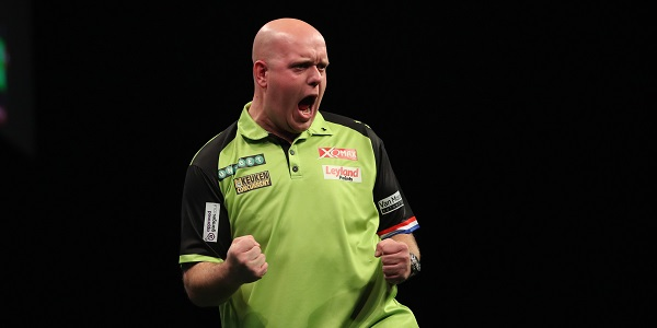 Michael van Gerwen - Unibet Premier League, Berlin (Lawrence Lustig, PDC)