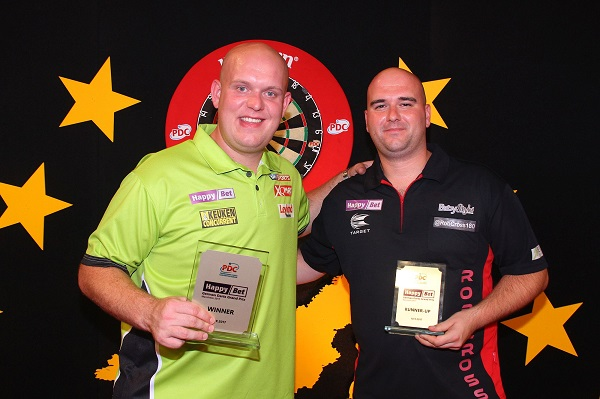 Michael van Gerwen & Rob Cross - HappyBet German Darts Grand Prix (PDC Europe)
