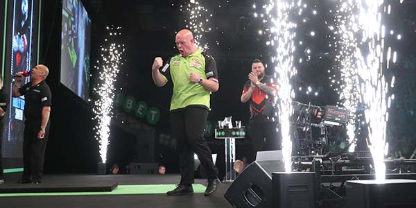 Michael van Gerwen, Michael Smith (Lawrence Lustig, PDC)