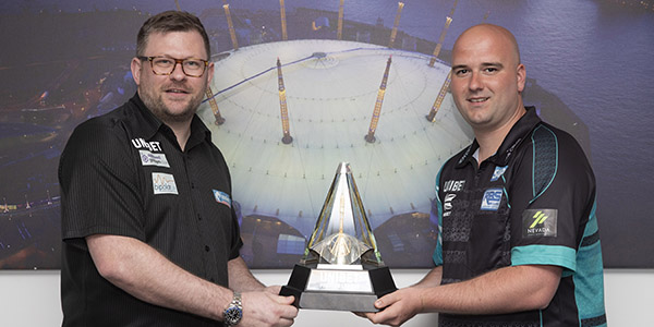 James Wade, Rob Cross (Lawrence Lustig, PDC)