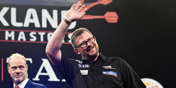 James Wade - Auckland Darts Masters, presented by TAB & Burger King (Photosport, PDC)