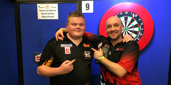 Harry Ward and Jamie Hughes (PDC)