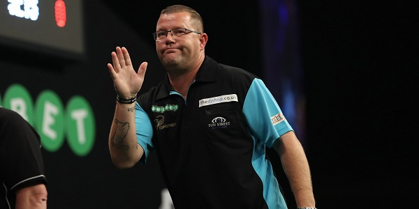 Steve West - Unibet World Grand Prix (Lawrence Lustig, PDC)