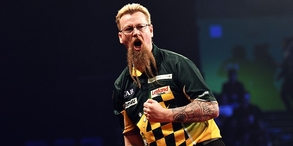 Simon Whitlock - Auckland Darts Masters, presented by TAB & Burger King (Photosport, PDC)