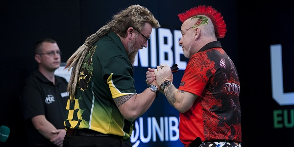 Simon Whitlock & Peter Wright (Kelly Deckers, PDC)