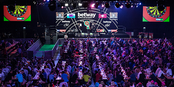 World Cup of Darts general view (PDC)